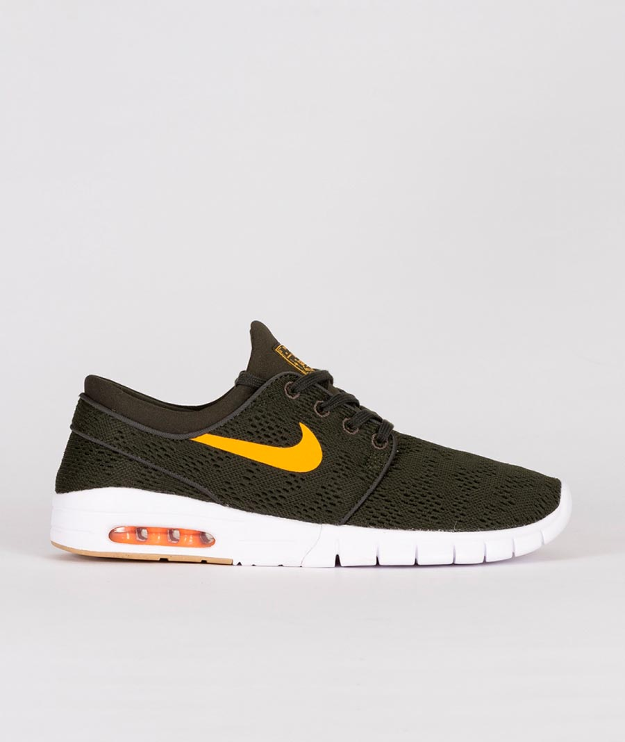 Nike SB - Janoski Max - Sequoia Orange