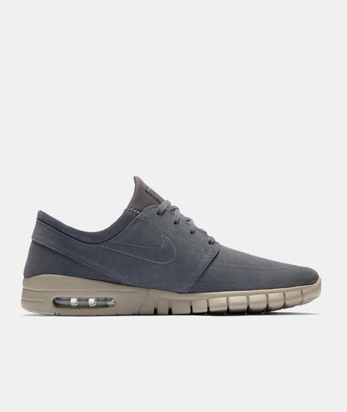 Nike SB - Janoski Max Leather - Dark Grey