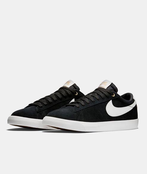 Nike SB - Blazer Low GT - Black White