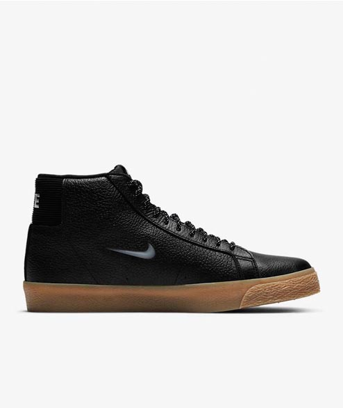 Nike SB - Blazer Mid Premium - Black Gum Light Brown