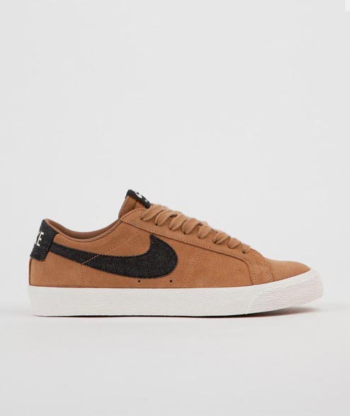 Nike SB - Zoom Blazer Low - Golden Beige Black