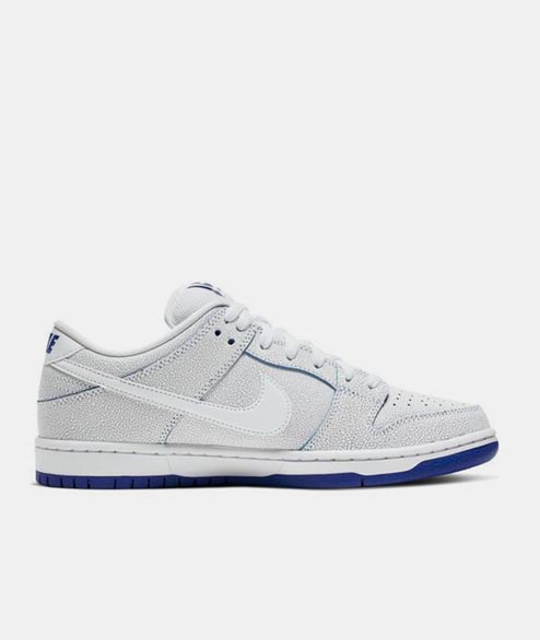 Nike SB - Dunk Low Pro PRM - White Game Royal