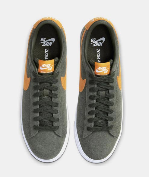 Nike SB - Blazer Low GT - Sequoia Orange White