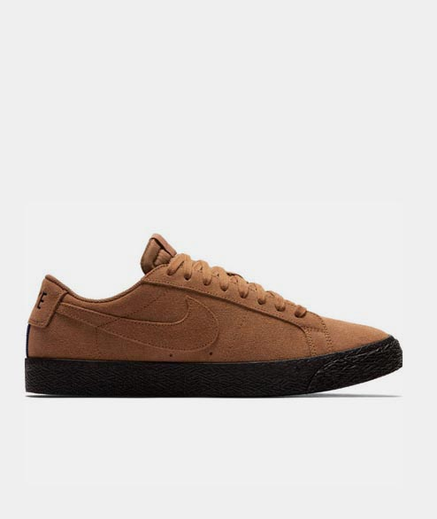Nike SB - Blazer Low - British Tan Black