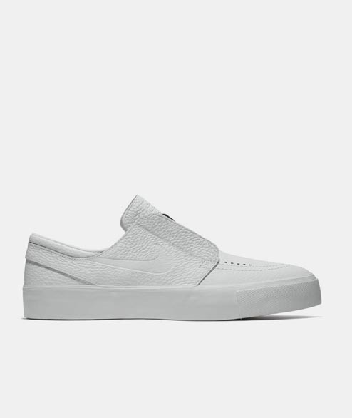 Nike SB - Janoski HT Slip - White Leather