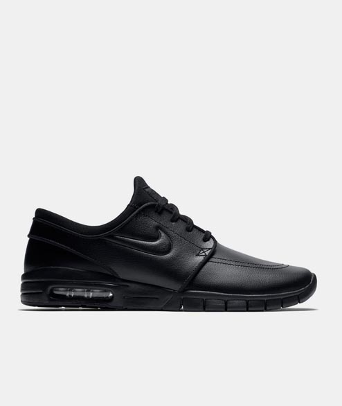 Nike SB - Janoski Max Leather - Black Black