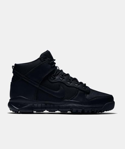 Nike SB - Dunk HI Boot SB - Black Black