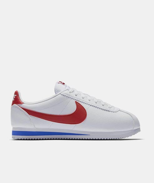 Nike Sportswear - Classic Cortez Leather - White Varsity Red