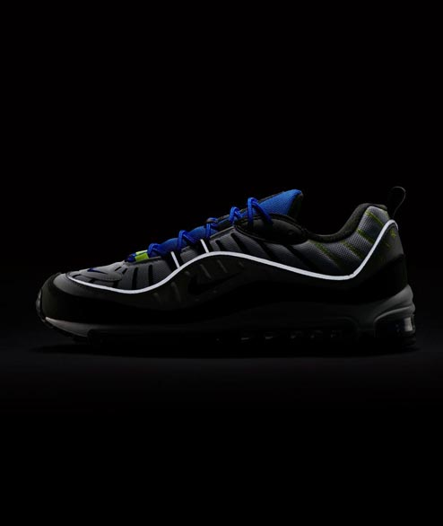 Nike Sportswear - Air Max 98 - White Black Racer Blue