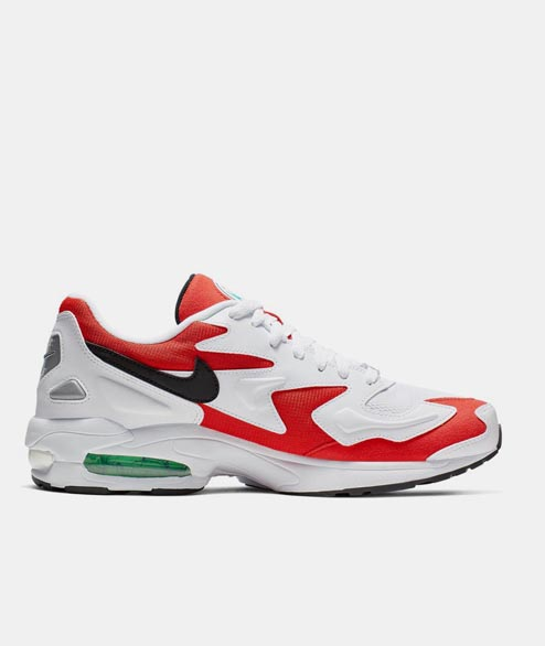 Nike Sportswear - Air Max2 Light - White Black Red
