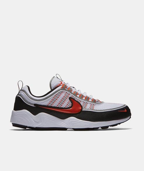 Nike Sportswear - Air Zoom Spiridon - White Team Orange
