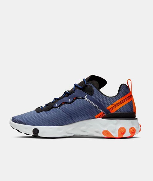 Nike Sportswear - React Element 55 SE - Midnight Navy Orange