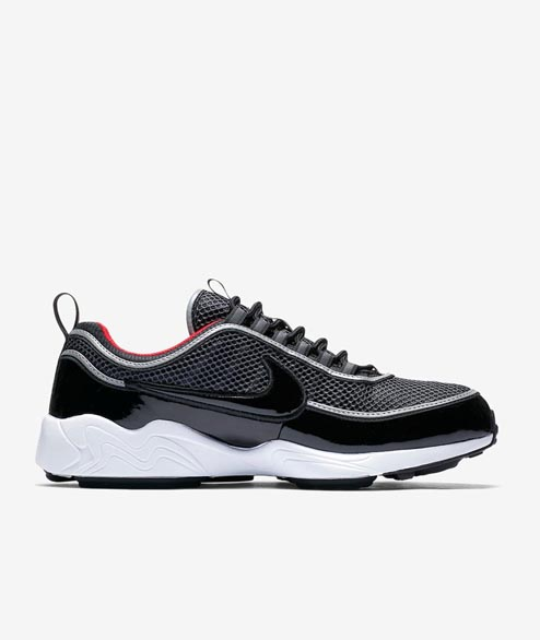 Nike Sportswear - Air Spiridon 16 - Black Black University Red