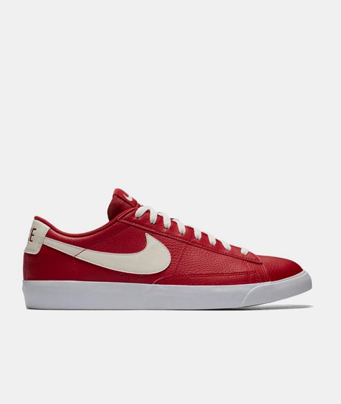 Nike Sportswear - Blazer Low Leather - Gym Red
