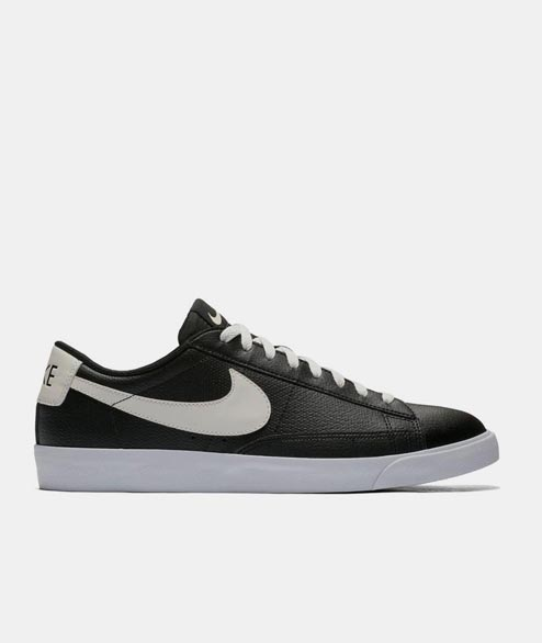 Nike Sportswear - Blazer Low Leather - Black Sail Gum