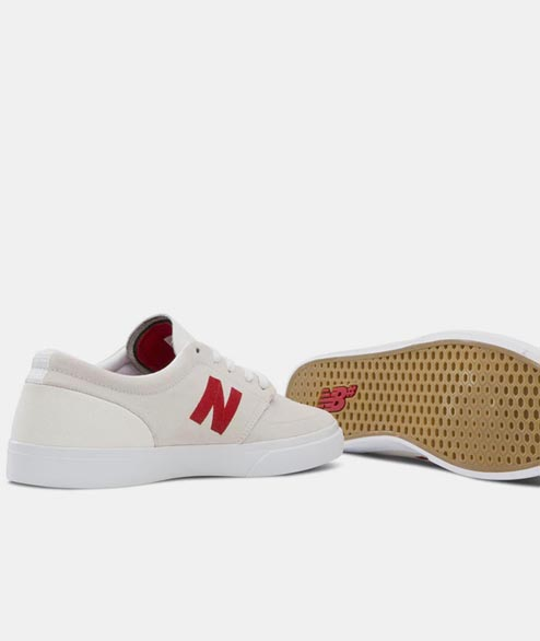 New Balance Numeric - NM345 BRIGHTON - White Red