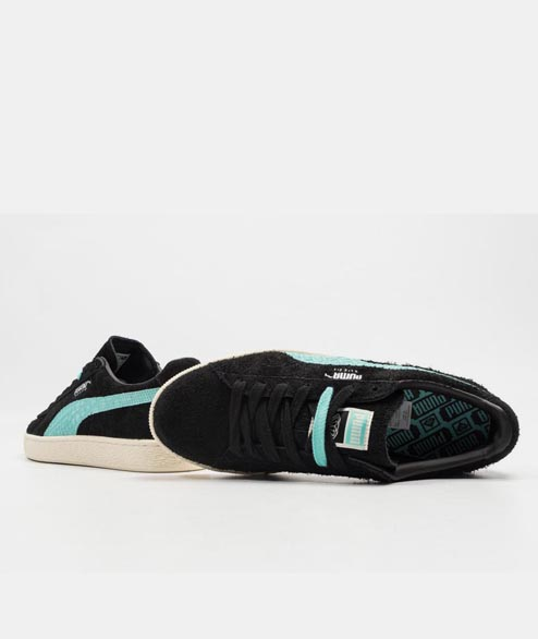 Puma - Suede Diamond - Black