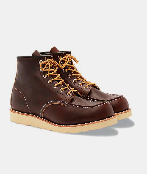 Red Wing - Classic Moc 8138 - Briar Oil Slick Leather