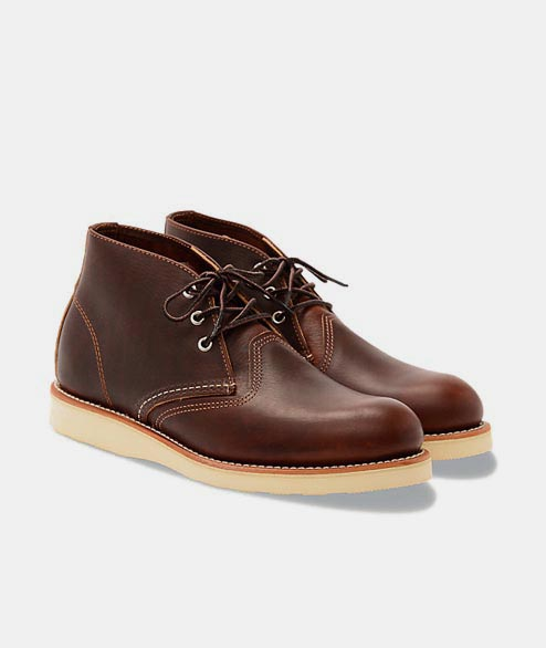 Redwing - Classic Chukka 3141 - Briar Oil Slick Leather