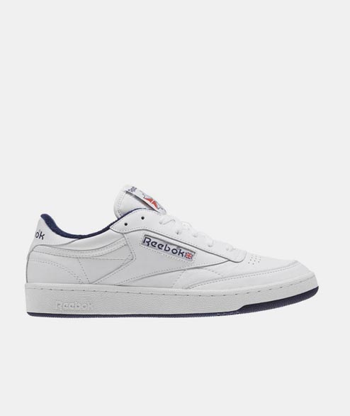 Reebok - Club C 85 Archive - White Leather Navy