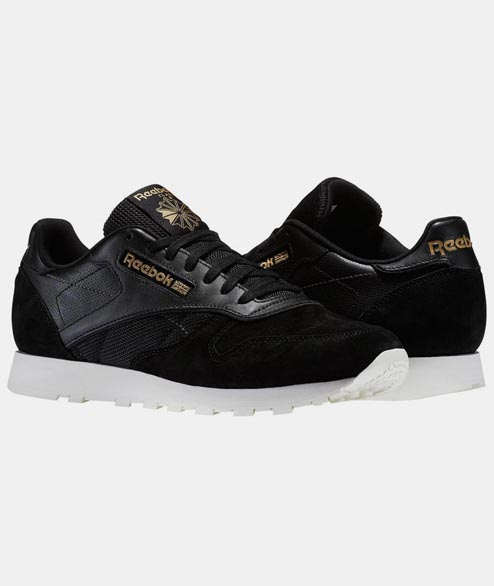 Reebok - CL Leather ALR - Black Chalk