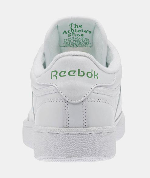 Reebok - Club C 85 Archive - White Leather Green