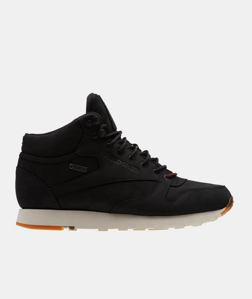 Reebok - CL Leather Mid GTX THI - Black