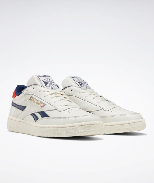 Reebok - Club C Revenge - Chalk Navy Red