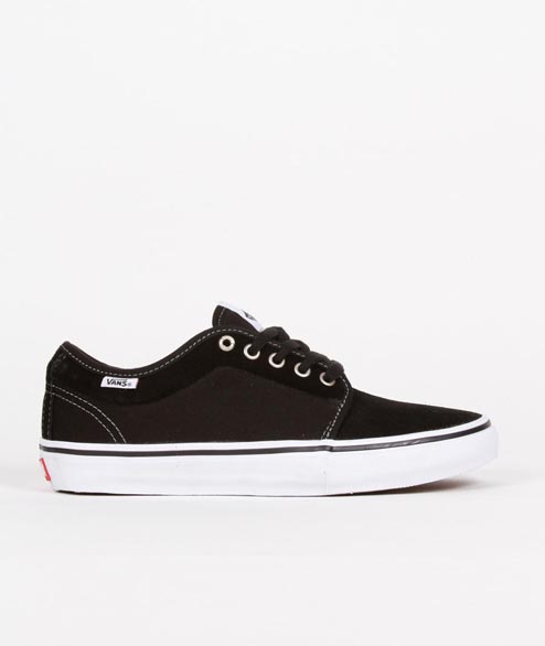 Vans Skate - Chukka Low Pro - Black White