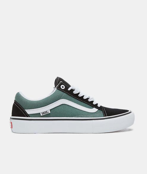 Vans Skate - Old Skool Pro - Black Duck Green