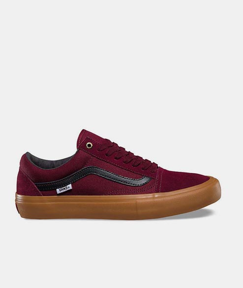 Vans Skate - Old Skool Pro - Port Black Gum