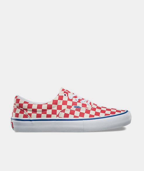 Vans Skate - Era Pro Check - Rococco Red