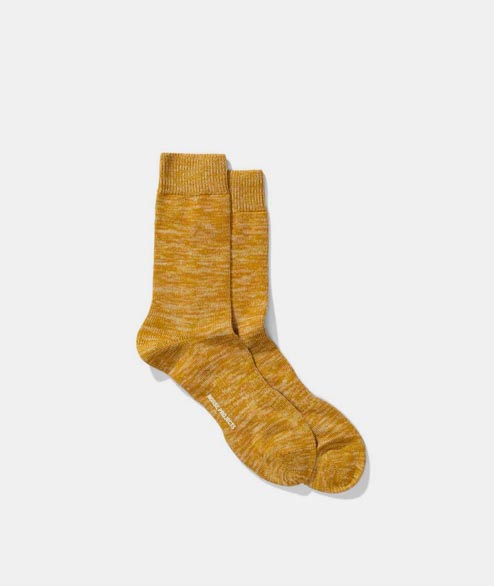 Norse Projects - Bjarki Blend Sock - Montpellier Yellow