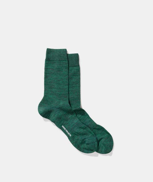 Norse Projects - Bjarki Blend Sock - Sporting Green