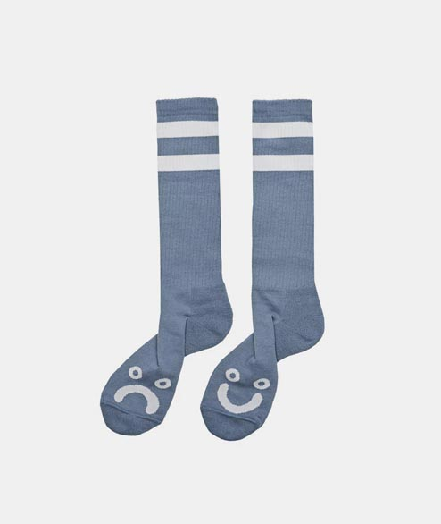 Polar Skate Co. - Happy Sad Sock - Powder Blue