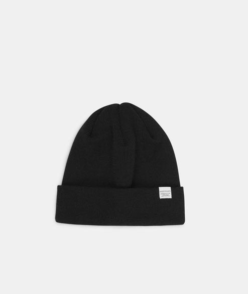 Norse Projects - Norse Top Beanie - Black