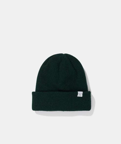 Norse Projects - Norse Beanie - Quartz Green