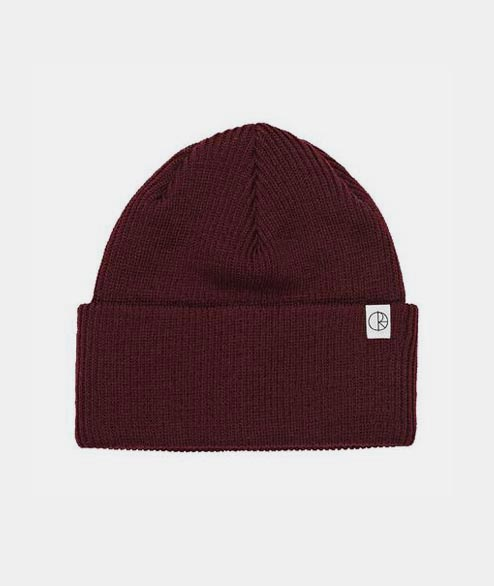 Polar Skate Co. - Merino Wool Beanie - Burgundy
