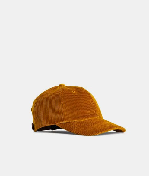 Norse Projects - Wide Wale Cord Cap - Yellow