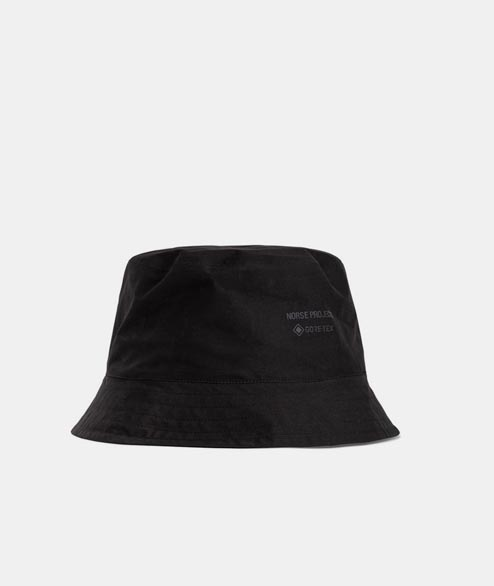 Norse Projects - Gore Tex Bucket Hat - Black