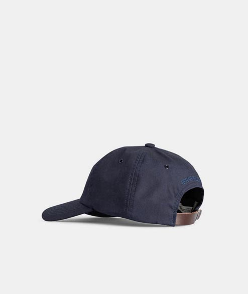 Norse Projects - British Millerian Cambric Cap - Navy