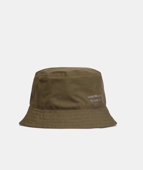 Norse Projects - Gore Tex Bucket Hat - Shale Stone