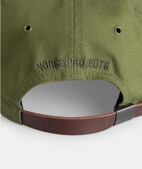 Norse Projects - British Millerian Cambric Cap - Green