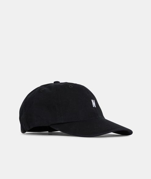 Norse Projects - Light Twill Sports Cap - Black