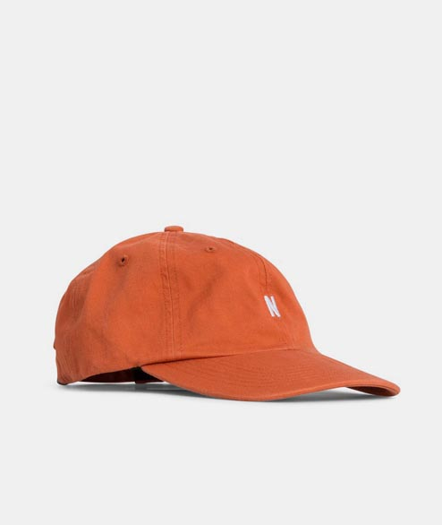 Norse Projects - Light Twill Sports Cap - Burned Red