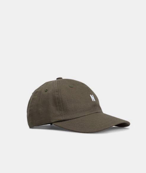 Norse Projects - Twill Sports Cap - Ivy Green