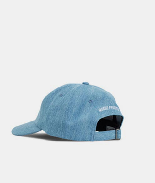 Norse Projects - Denim Sports Cap - Sunwashed
