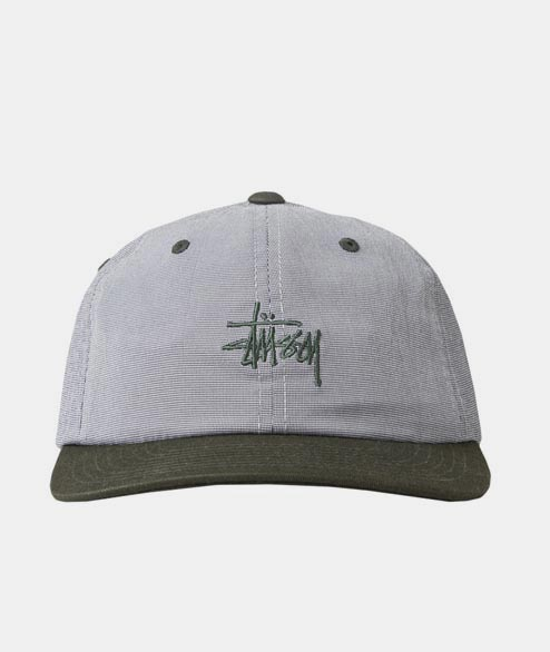 Stussy - Mini Houndstooth Cap - Green