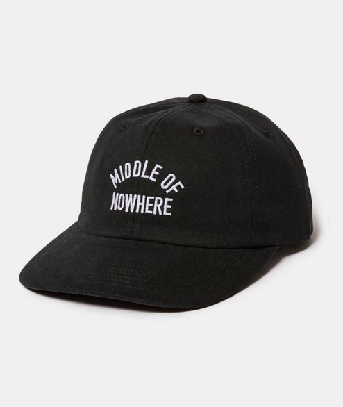 The Quiet Life - Middle Of Nowhere Polo Hat - Black
