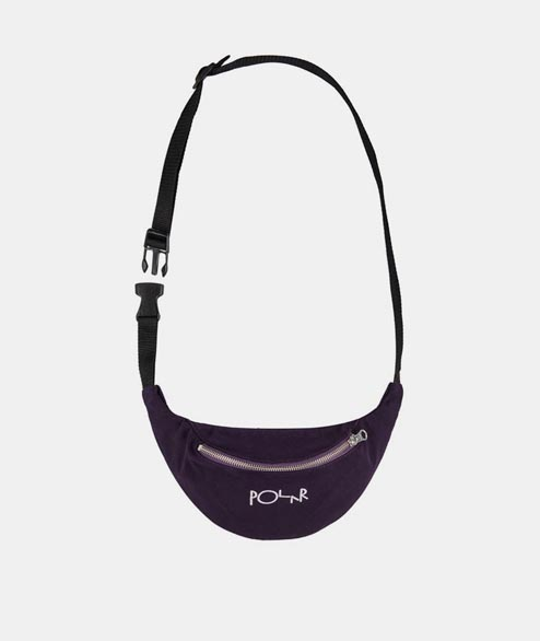 Polar Skate Co. - Script Logo Hip Bag - Prune